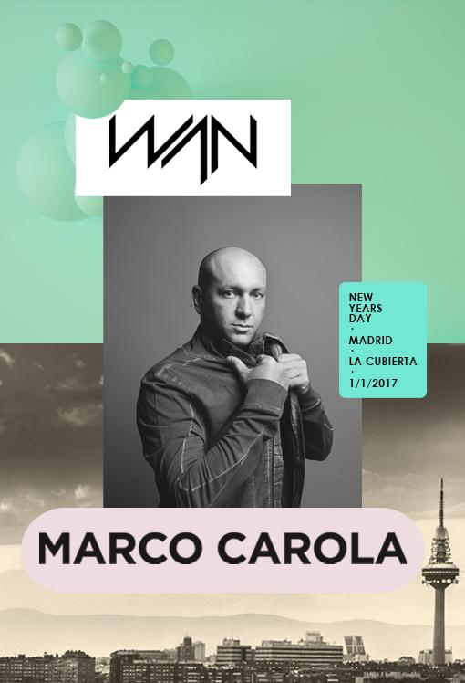 marco-carola Marco Carola, primer bombazo de WAN Festival