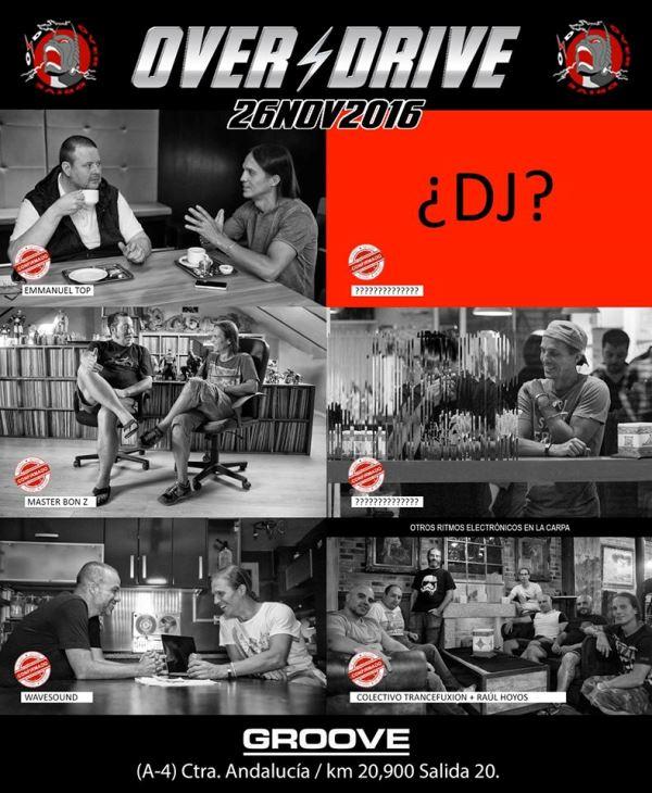 cartel-overdrive-2016-EDMred [SORTEO] OVERDRIVE 2016 en Madrid