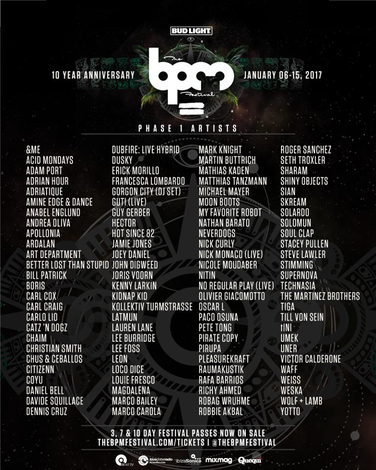 bpm-festival-2017-primer-avance-EDMred Espectacular el primer avance de BPM Festival