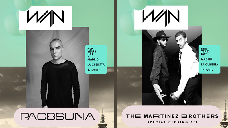 Photo of The Martinez Brothers y Paco Osuna cierran el cartel de WAN Festival 2017
