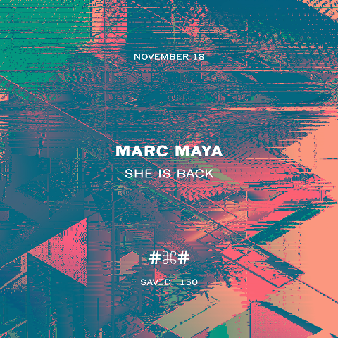 marc-maya-she-is-back-EDMred Marc Maya presenta 'She Is Back EP'