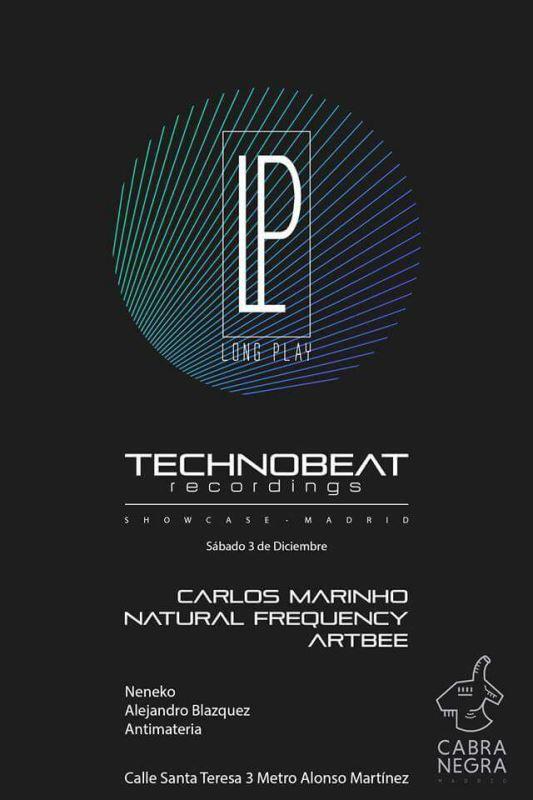 technobeat-showcase-EDMred Long Play Club contará con el showcase de Technobeat Recordings