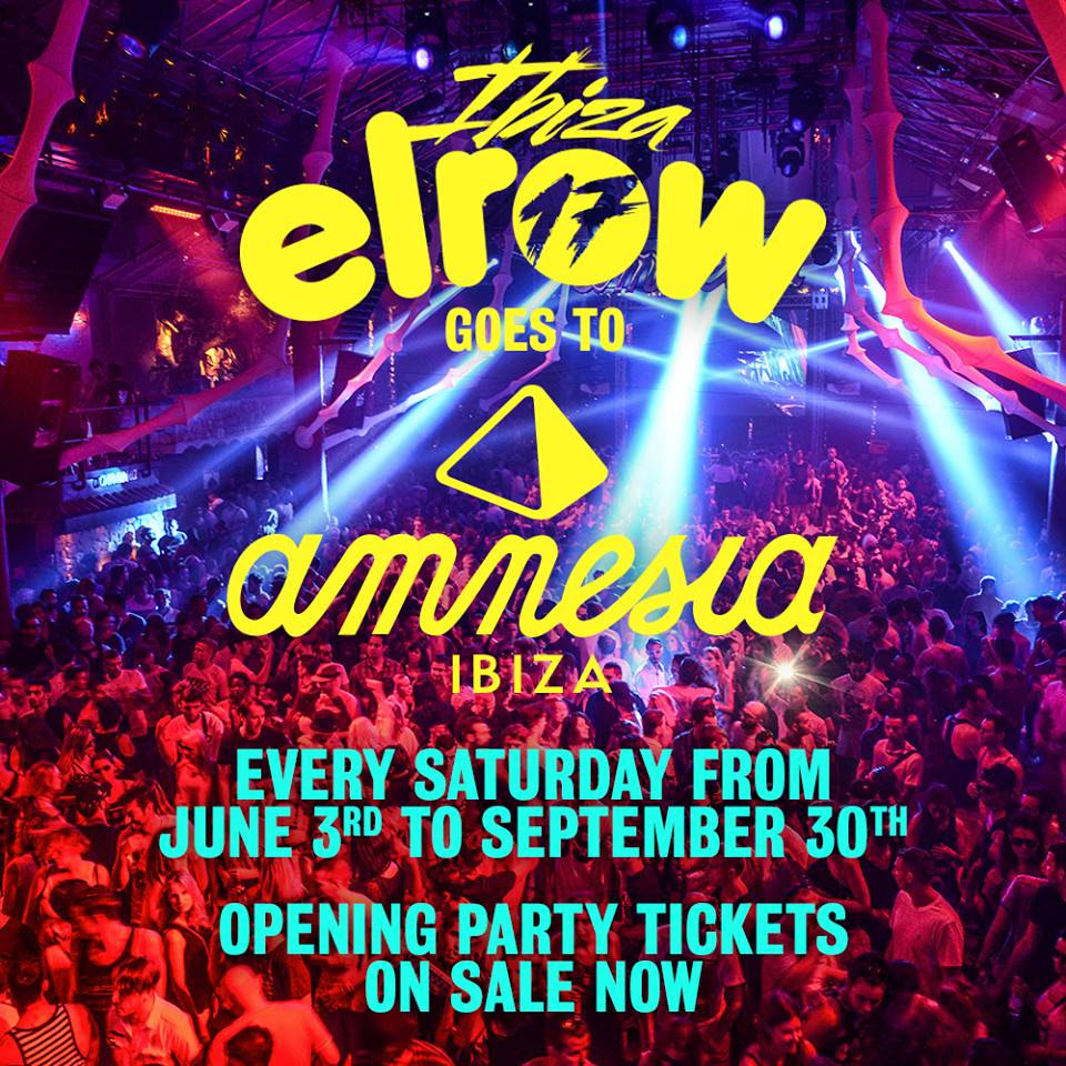 Elrow-en-amnesia-Ibiza-EDMred Amnesia será el nuevo hogar de Elrow en Ibiza