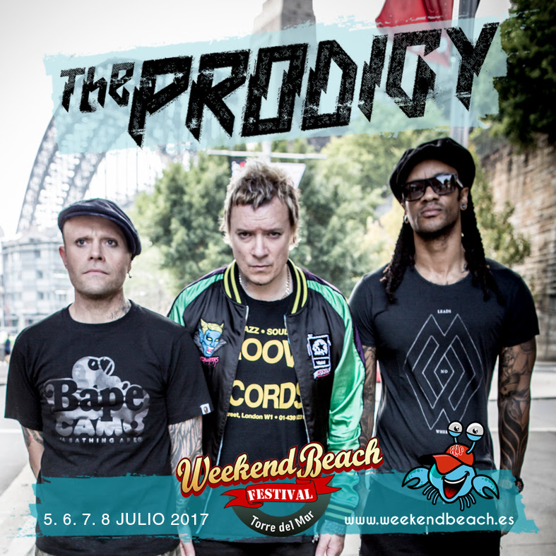 The-prodigy-en-Weekend-Festival-2017-EDMred The Prodigy en Weekend Beach Festival 2017