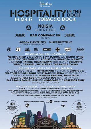 HITD-FULL-LINE-UP-318x450 EDMred se desplaza a Londres para asistir a Hospitality In The Dock