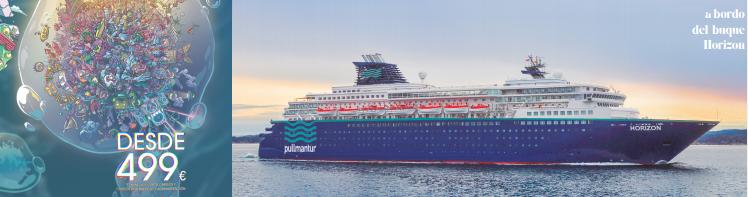buque-Horizon-de-Pullmantur-Waterland-en-EDMred Esto es Waterland; festival en alta mar para los amantes de la electrónica