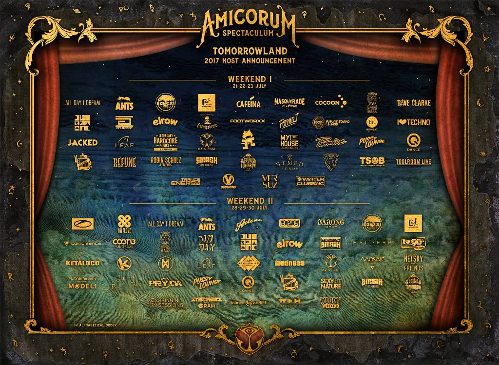 stages-hosts-en-Tomorrowland-2017-EDMred Tomorrowland anuncia sus Stage Hosts