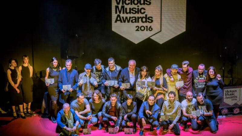 Photo of Ganadores Vicious Music Awards 2016