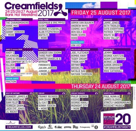 16835950_10158235192360032_6728176055025152124_o-468x450 Creamfields celebra su XX aniversario con un line up de ensueño