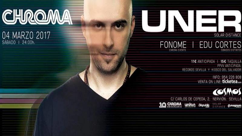 Photo of Uner será el protagonista del próximo evento de Chroma Events