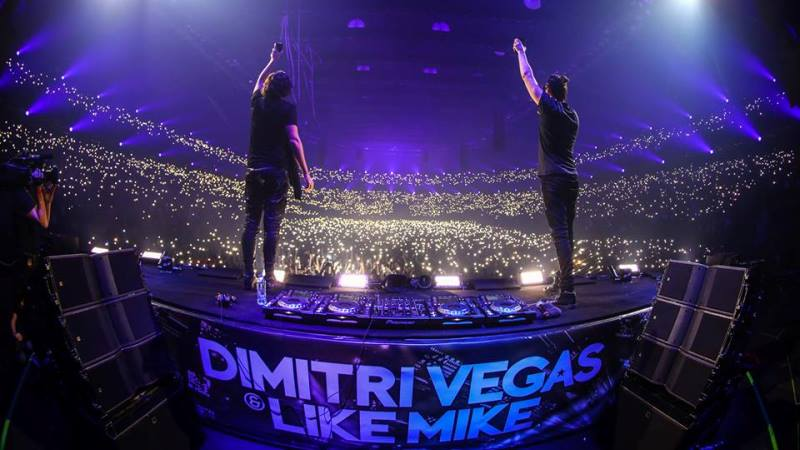 Photo of Twenty One Pilots y Dimitri Vegas & Like Mike en el mismo escenario