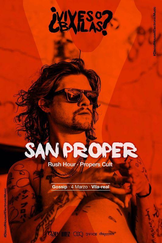 CARTEL-SAN-PROPER-GOSSIP-4-MARZO San Proper y Br!z en Gossip... ¿Vives o Bailas?