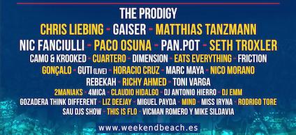 Electrónica-Weekend-Beach-Festival-2017-EDMred Matthias Tanzmann entre los confirmados en Weekend Beach Festival