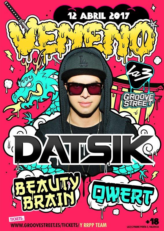 datsik-en-veneno Datsik será el próximo invitado en Veneno