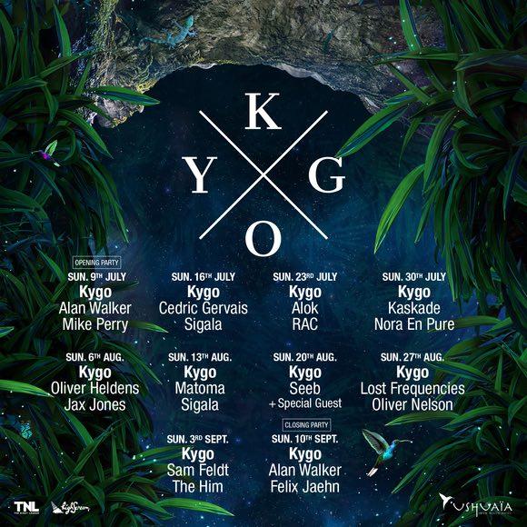 Kygo-Ushuaïa-Ibiza-2017 Kygo sustituye a Avicii en la residencia de los domingos en Ushuaïa Ibiza