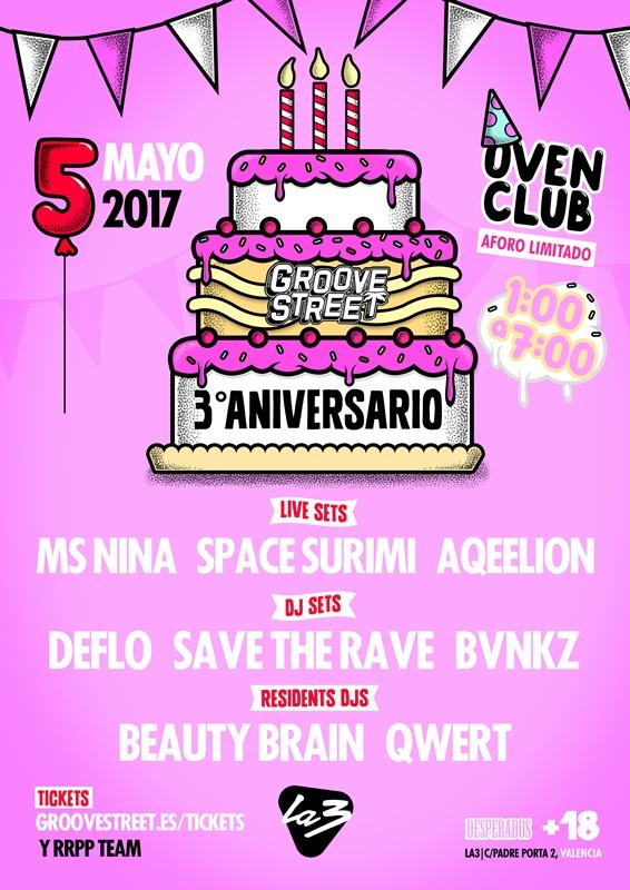 aniversario-street-groove-2017-en-EDMred Groove Street celebra su aniversario en Valencia