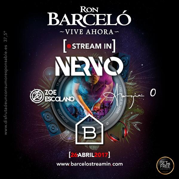 barcelo-streaming-con-Nervo-EDMred Nervo en Madrid y en streaming con Ron Barceló