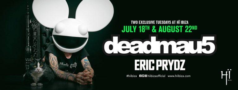deadmau5-EDMred Deadmau5 acompañará a Eric Prydz en su residencia de Hï Ibiza