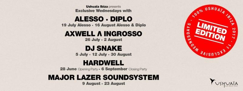 limited-edition-ushuaia Agenda Ibiza 2017