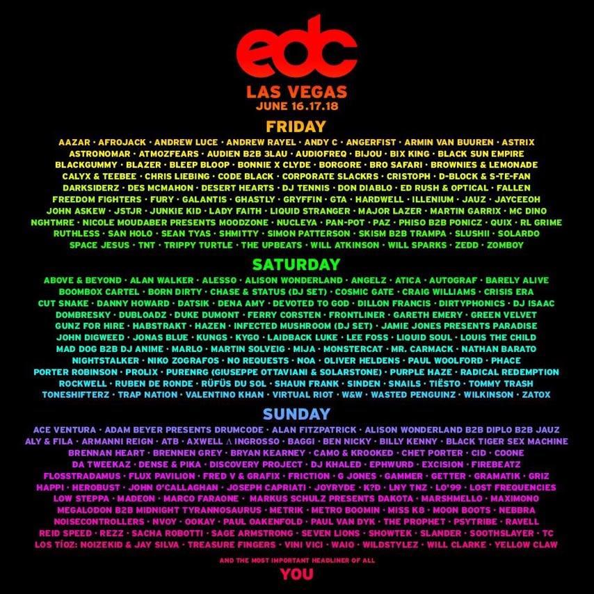 CARTEL-LINE-UP-EDC-2017-EDMred ATICA único español en EDC Las Vegas