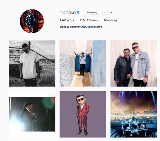 DJ-Snake-Instagram-511x450 DJ Snake vuelve de forma silenciosa a sus redes sociales