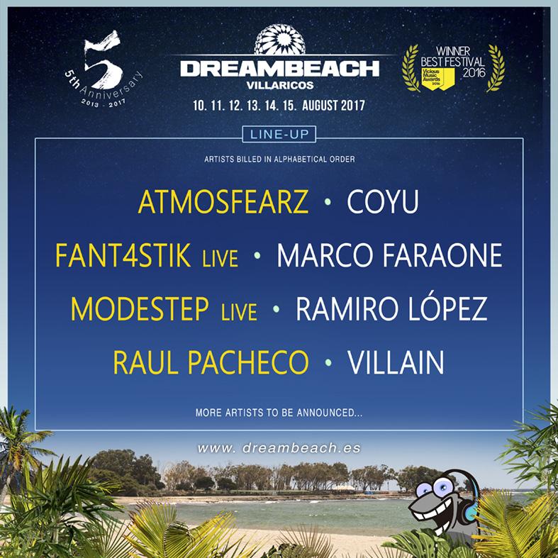 Dreambeach_Avance-23MAYO-EDMred Modestep, Atmozfears o Coyu entre los nuevos confirmados Dreambeach 2017