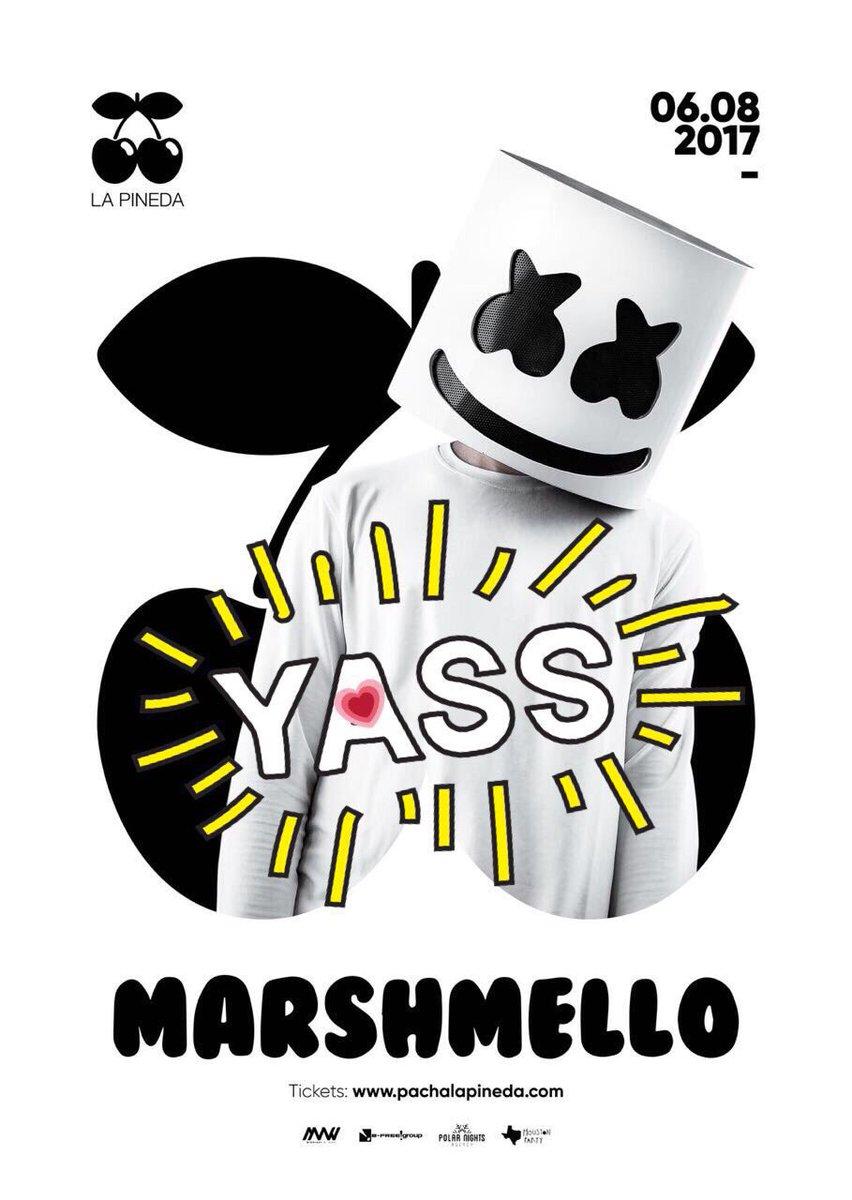 Marshmello-Pacha-La-Pineda Marshmello visitará Tarragona este verano