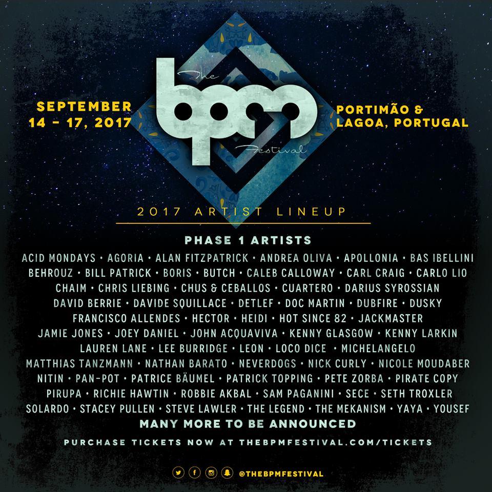 cartel-bpm-festival-portugal-EDMred BPM Festival Portugal anuncia su primer avance de cartel