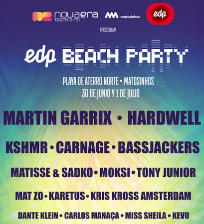 cartel-edp-beach-party-409x450 Ya está aquí la décima edición del EDP Beach Party de Portugal