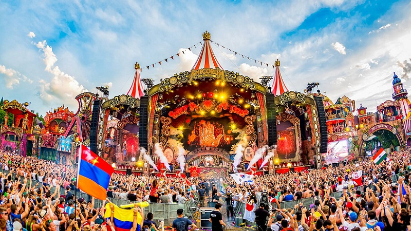 Despacito-Tomorrowland-Mainstage Salvatore Ganacci es el primer confirmado de UNITE With Tomorroland Barcelona