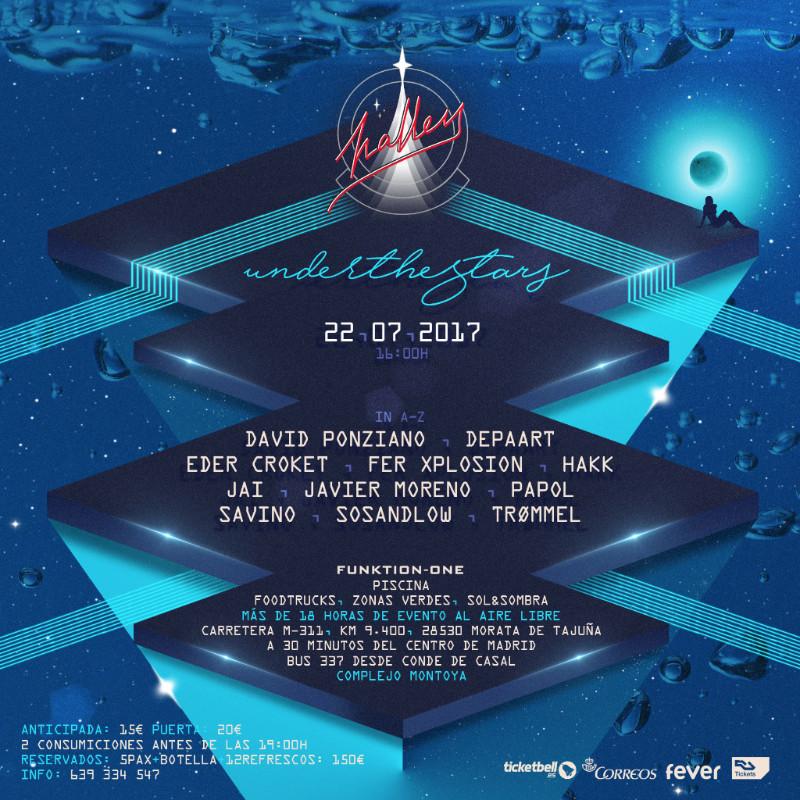 HALLEY-under-the-stars-en-EDMred HALLEY celebra una edición especial bajo las estrellas
