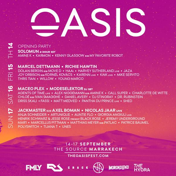 Oasis-2017 Oasis Festival completa su cartel
