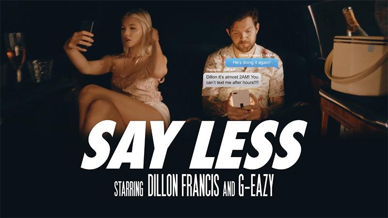 Photo of Dillon Francis dice mucho con su videoclip de 'Say Less'