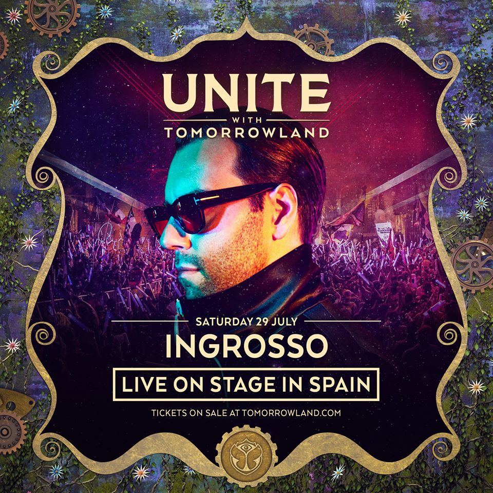 Sebastian-Ingrosso-Unite-With-Tomorrowland-Spain Sebastian Ingrosso se une al cartel del UNITE with Tomorrowland