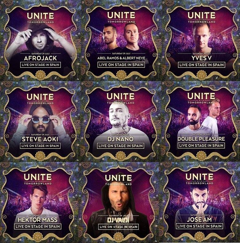 Unite-With-Tomorrowland-Spain-Lineup Sebastian Ingrosso se une al cartel del UNITE with Tomorrowland