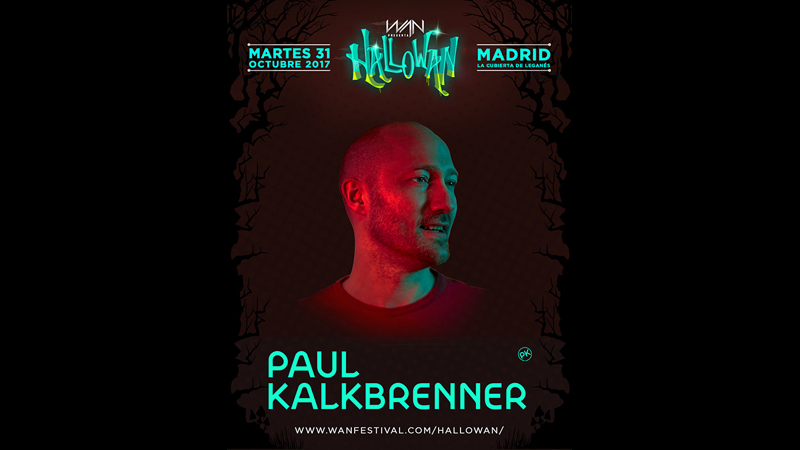 Photo of Paul Kalkbrenner primer confirmado en Hallowan