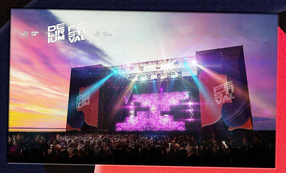 techo-stage-delirium Delirium Festival, cartel completo y escenarios