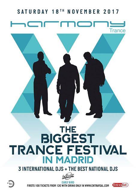 TBTF_Harmony_Trance John O'Callaghan, primer confirmado para The Biggest Trance Festival In Madrid (Harmony Trance)