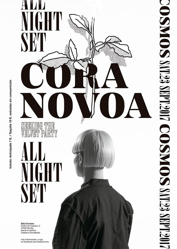 cora-novoa-all-nigth-long-sala-cosmos-EDMred El primer all night long de Cora Novoa será en Sevilla
