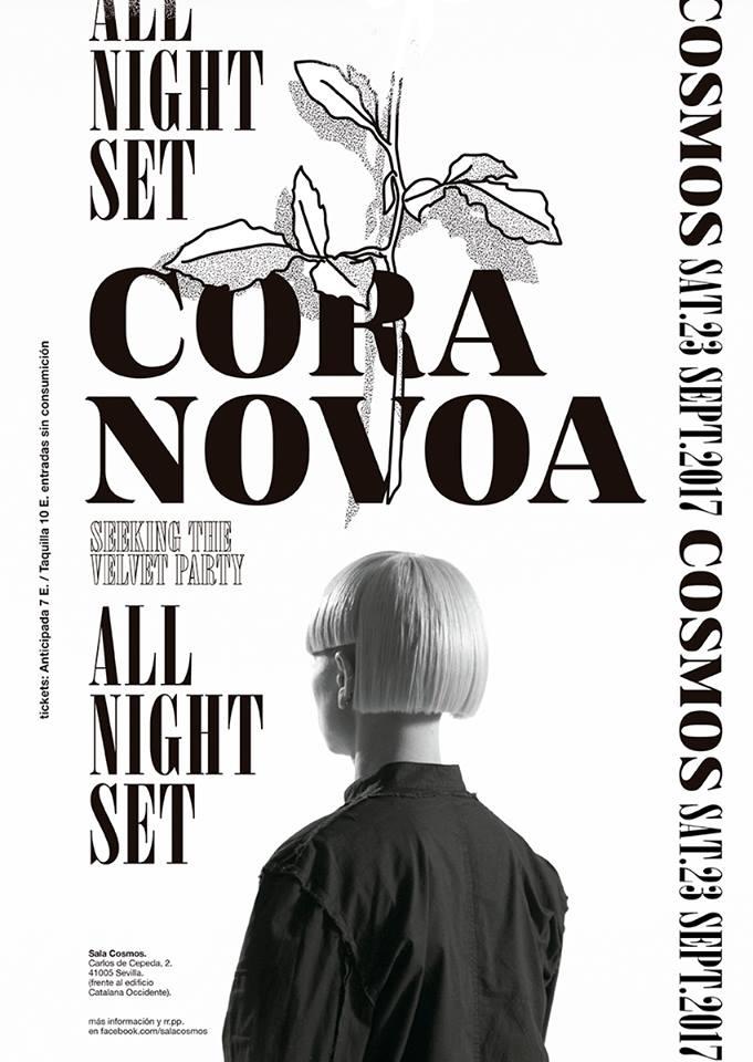 cora-novoa-all-nigth-long-sala-cosmos-EDMred El primer all night long de Cora Novoa será en Sevilla