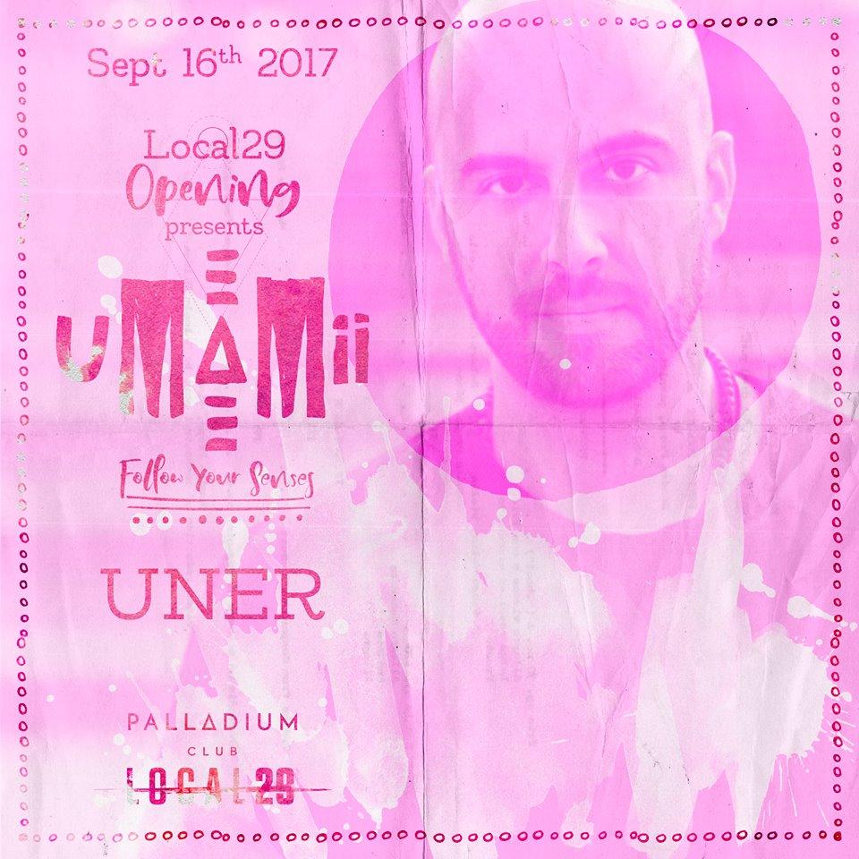 umamii-uner-EDMred Uner presentará en Sala Palladium el concepto Umamii