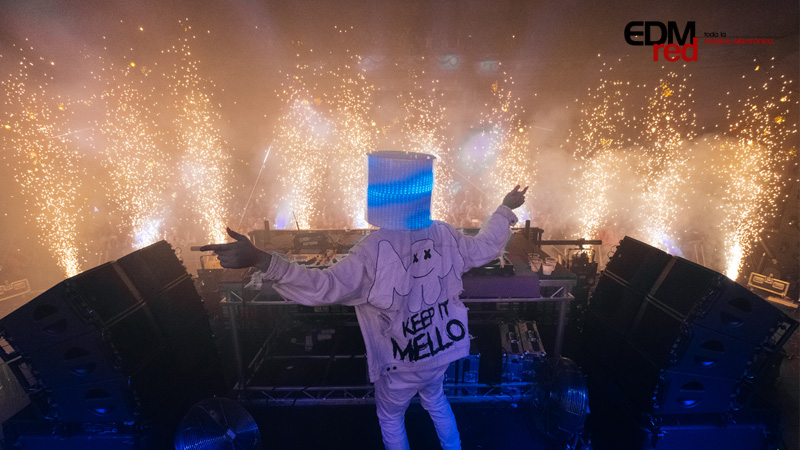 Marsh-botton Marshmello conquista Londres [CRÓNICA]