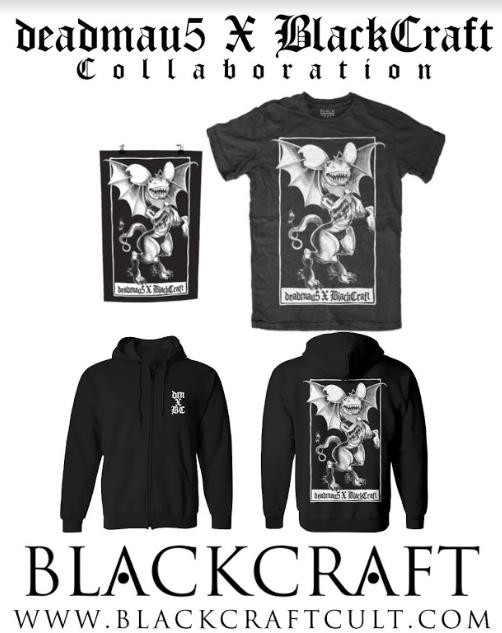 deadmau5-Blackcraft-Cult-merchandising deadmau5 estrena nuevo merchandising para Halloween