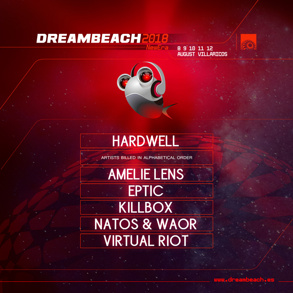 Avance_Dreambeach_Nov2017 Hardwell, Amelie Lens y Virtual Riot entre los seis confirmados para Dreambeach Villaricos 2018
