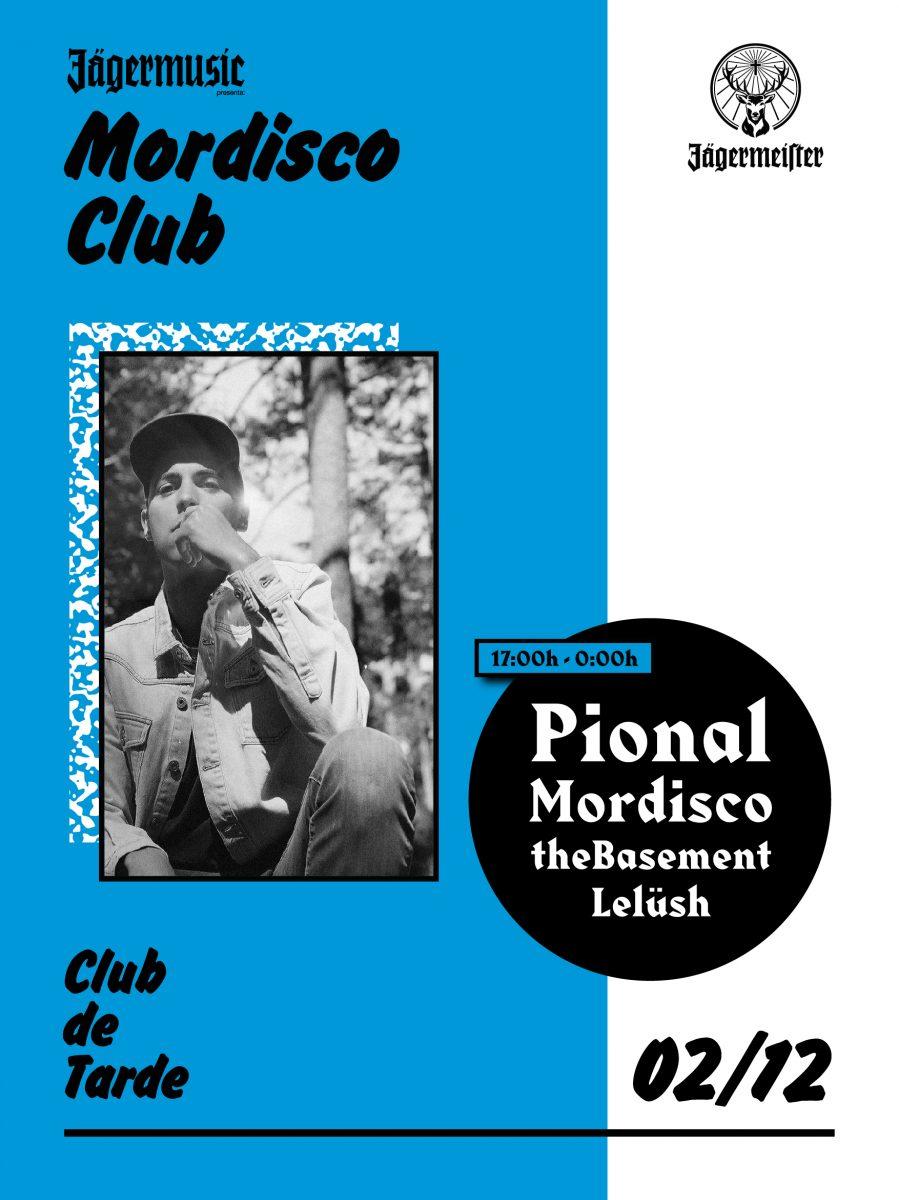 POSTER_MORDISCO_2-EDMred Pional, nuevo invitado en la segunda cita de la nueva temporada de Mordisco Club