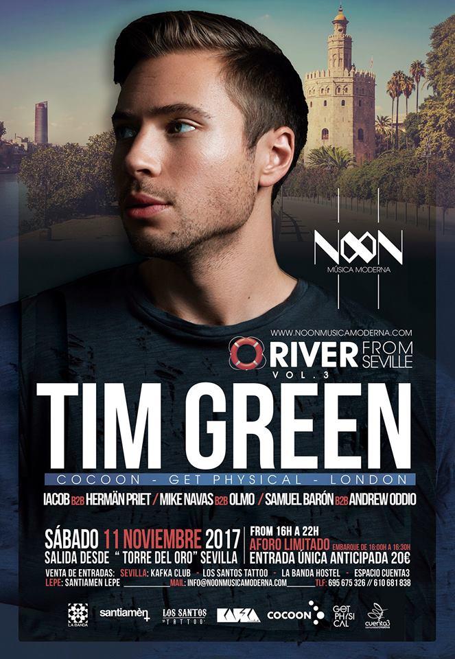 Tim-Green-River-From-Sevilla-3-EDMred Tim Green navegará por el Guadalquivir el próximo sábado