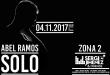 Abel Ramos vuelve con SOLO a La Riviera