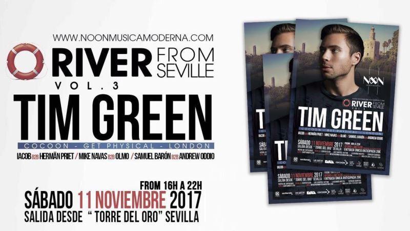 Photo of Tim Green navegará por el Guadalquivir el próximo sábado