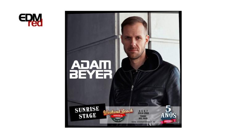 Photo of Adam Beyer se suma a Weekend Beach Festival 2018