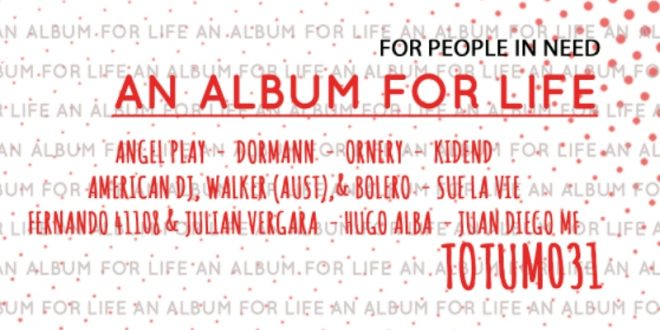 Totum Music saca su lado más solidario con 'An Album For Life'